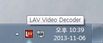 LAV Video Decoder 하드웨어 가속